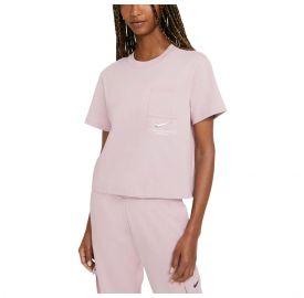 Nike Γυναικεία κοντομάνικη μπλούζα NSW Swsh